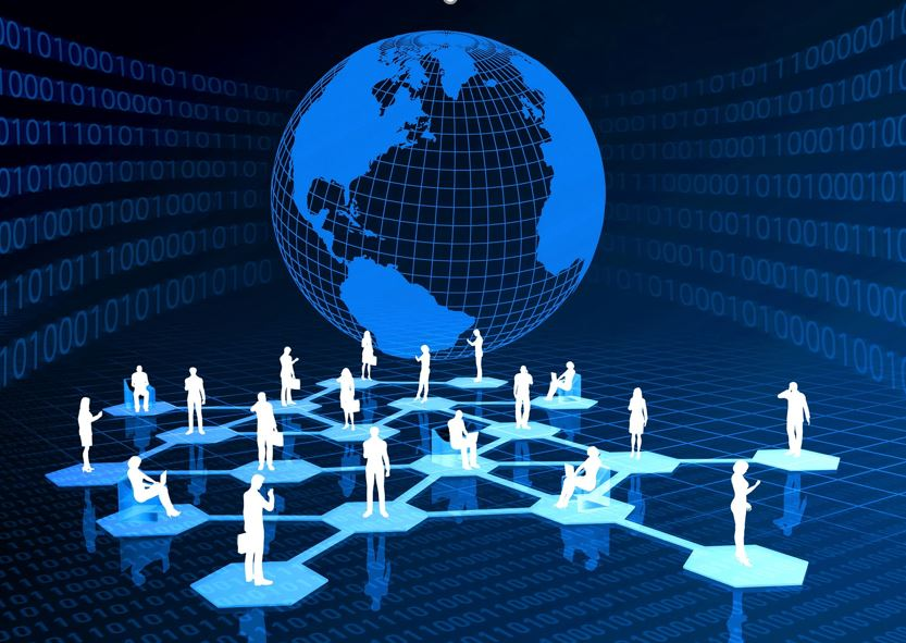 Networking business contacts